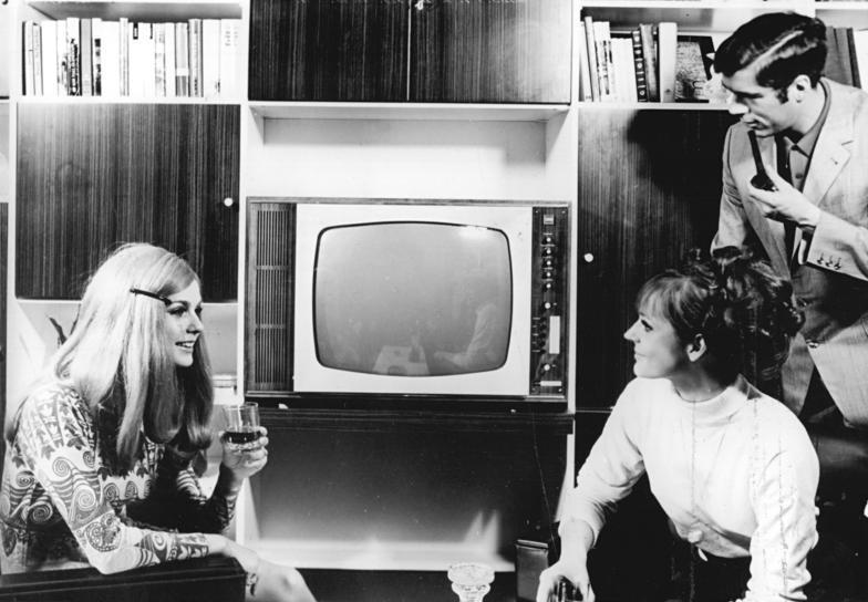 Werbung, RFT Color 20, Fernseher